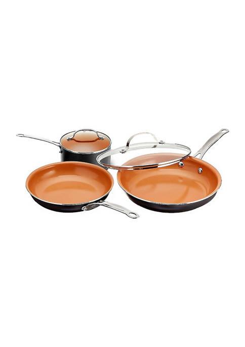 Gotham Steel 5 Piece Ti-Ceramic Nonstick Cookware Set