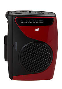 gpx® Cassette Player AM/FM Recorder