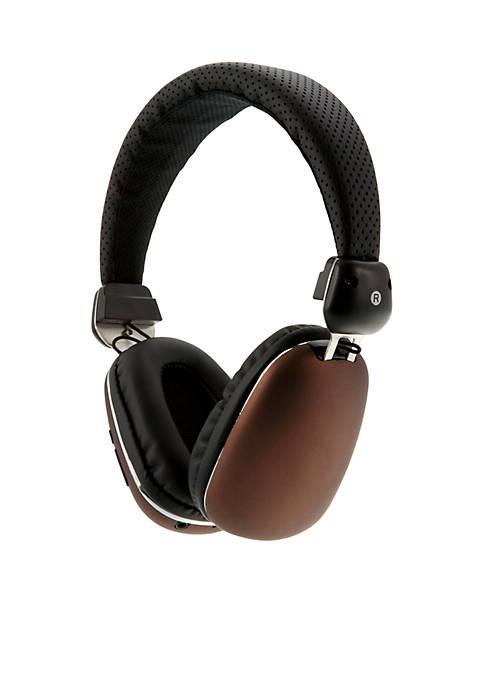 iLive Bluetooth Black Audio Line In Headphones