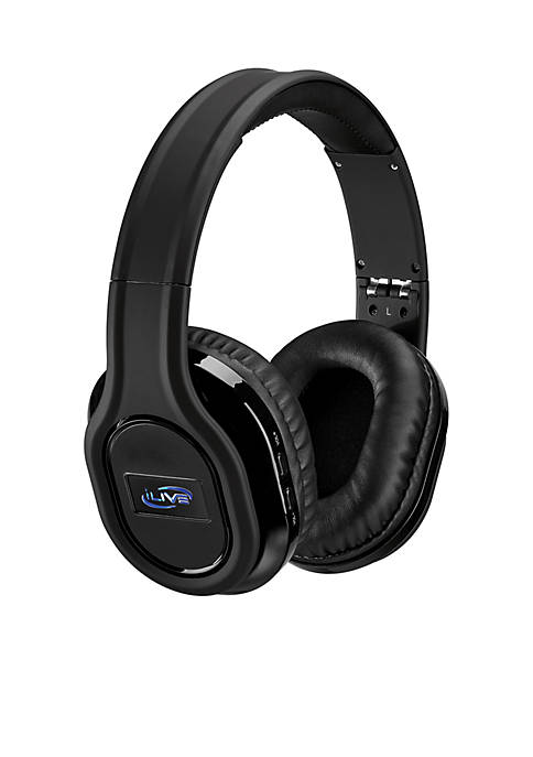 iLive Bluetooth Noise Cancelling Headphones With Audio Line