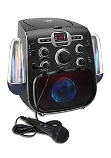 iLive Bluetooth Karaoke Player With Water Show