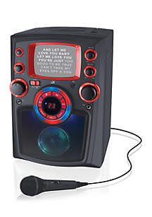 iLive Bluetooth Karaoke Machine With Monitor And LED Light Show