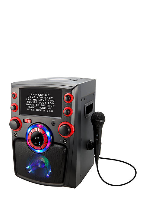 iLive Bluetooth Karaoke 7-in. TFT Monitor LED Light