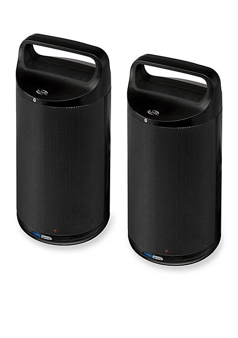 iLive Bluetooth Outdoor Speakers Set of 2
