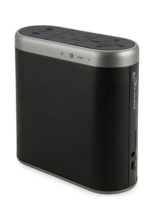 iLive Black Wifi Speaker with Rechargeable Battery