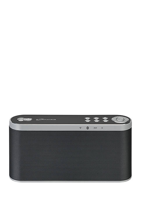 Black Wifi Speaker with Rechargeable Battery