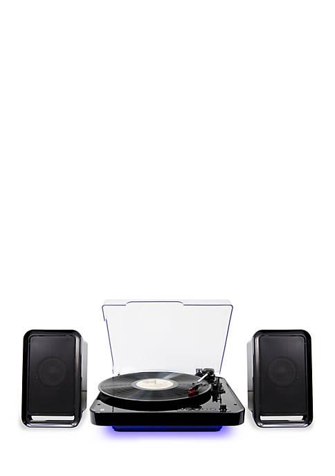 iLive Bluetooth Turntable With Speakers