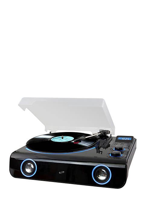 iLive Classic Style Bluetooth Turntable 2Channel FM 3Speed