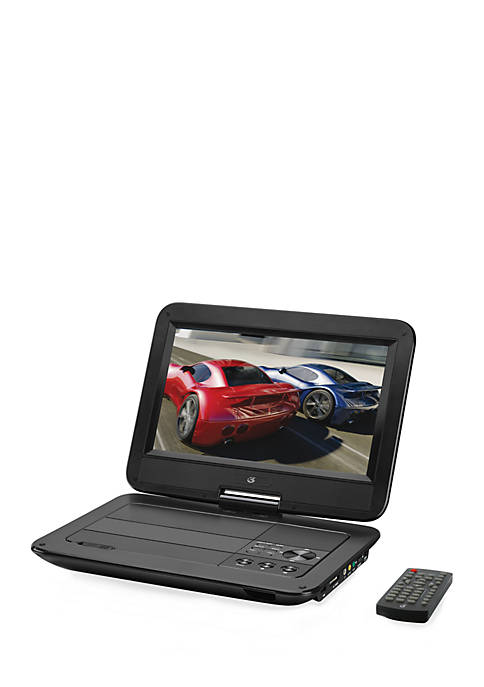 gpx® Portable DVD Player TFT Remote- 2-Hour Battery