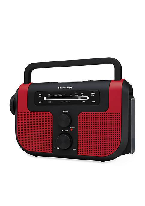 WeatherX Emergency Radio/Flashlight