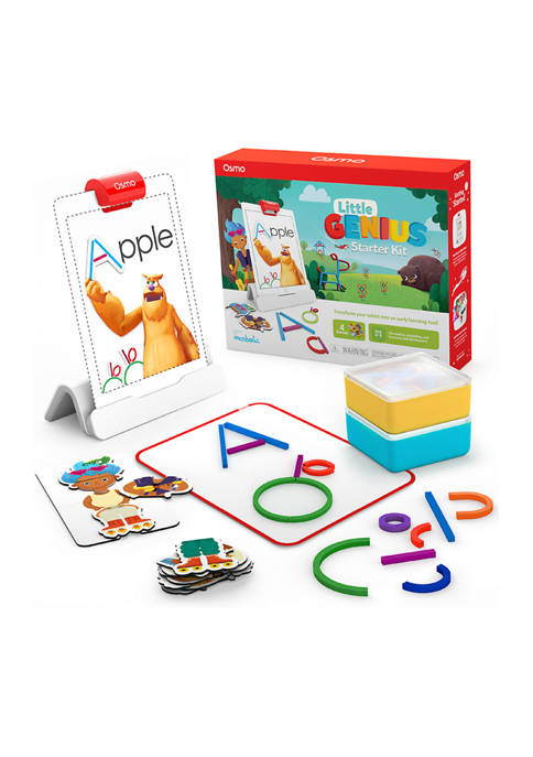 Osmo Little Genius Starter Kit for iPad, Preschool,