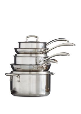 8-Piece Biltmore Stainless Steel Cookware Set
