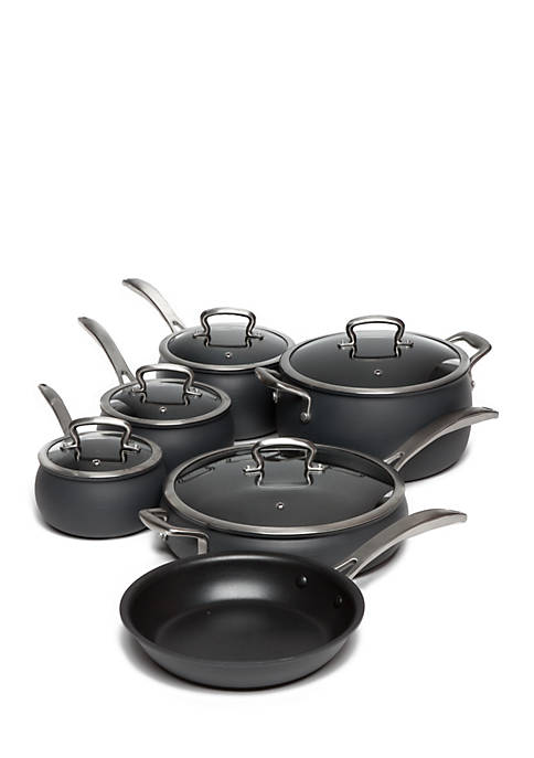Biltmore® 11-Piece Non-Stick Dishwasher Safe Hard Anodized Belly