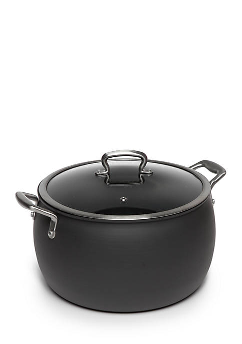 12-qt. Non-Stick Dishwasher Safe Hard Anodized Belly Stockpot