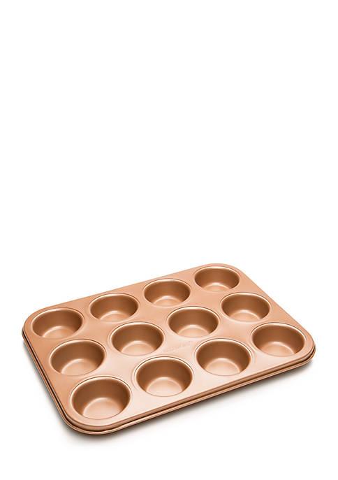 12 Cup Non-Stick Copper Muffin Pan