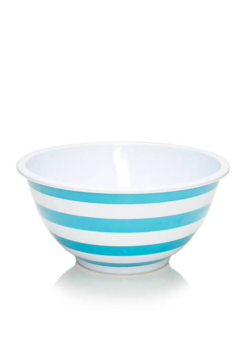 Cooks Tools™ Pineapple Play Stripe Melamine 4.6-qt.Mixing Bowl