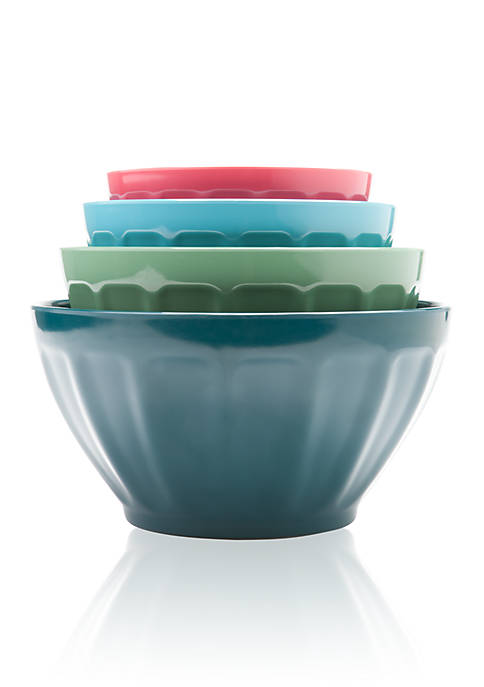 Cooks Tools™ Succulents 4-Piece Mixing Bowl Set