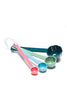 Succulents Floral Shaped Measuring Spoons