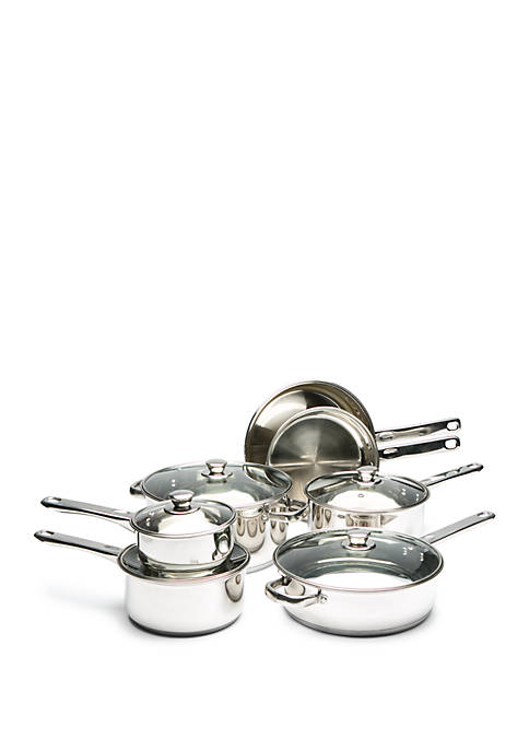 Cooks Tools™ 12-Piece Stainless Steel Cookware Set