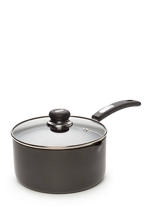 Cooks Tools™ 3-qt. Hard Anodized Sauce Pan