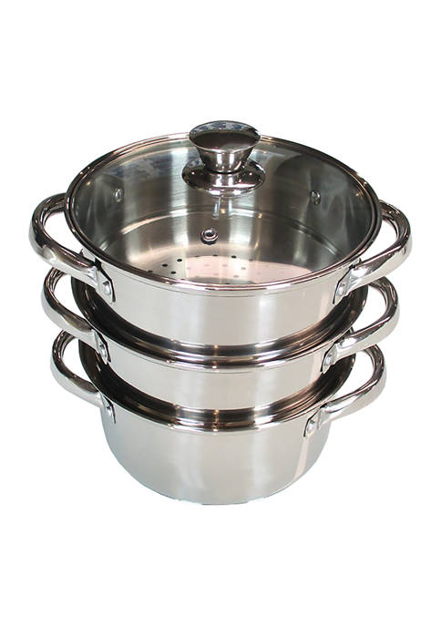 Cooks Tools 3 Tier Steamer