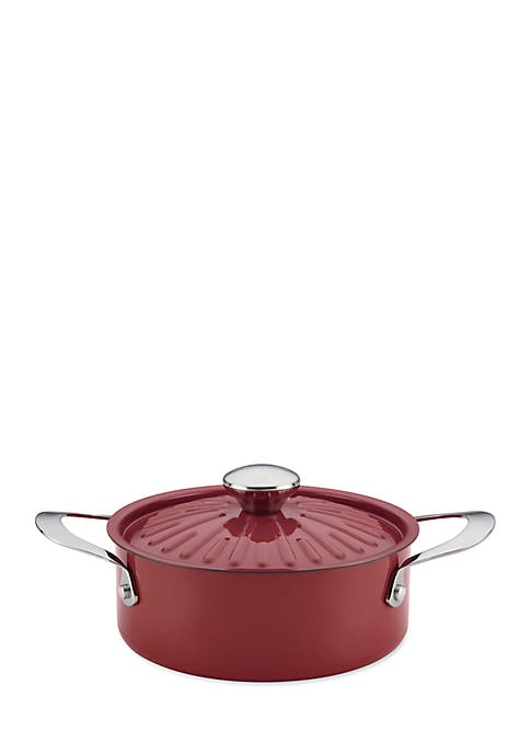 Rachael Ray 2.5-qt. Nonstick Hard Enamel Covered Round