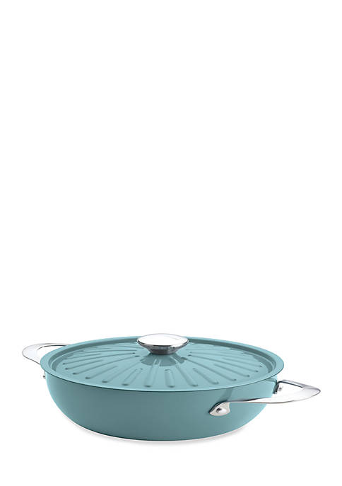Rachael Ray 4.24-qt. Nonstick Aluminum Covered Round Casserole