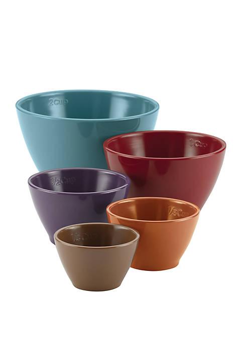Rachael Ray Cucina Melamine Nesting Measuring Cups Assorted
