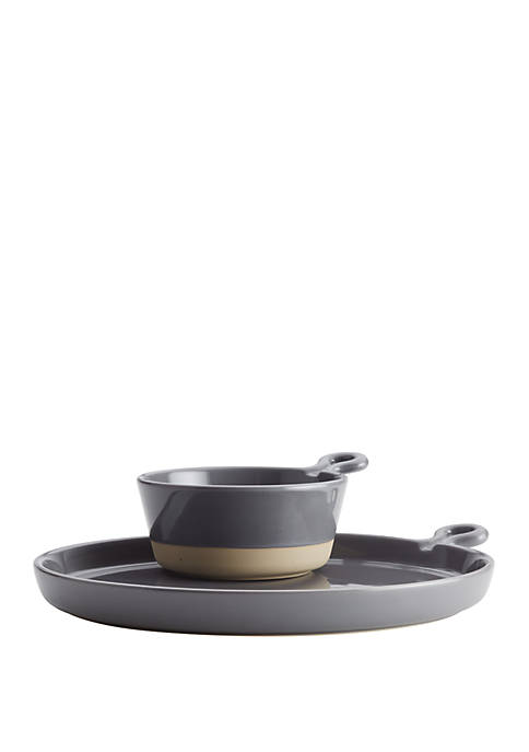 Rachael Ray Cityscapes Ceramic Soup and Sammie Set