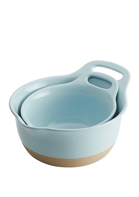 Rachael Ray Cityscapes Ceramic Mixing Bowl 2 Piece