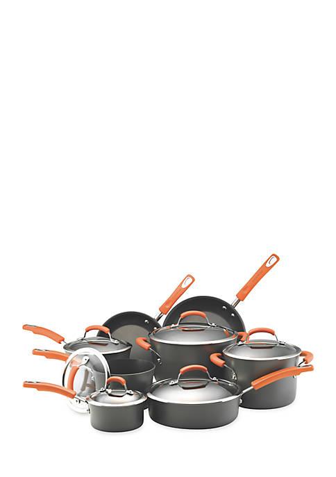 14-Piece Non-stick Aluminum Cookware Set