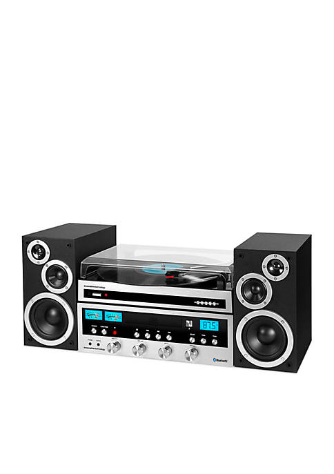 Innovative Technology 50 Watt Cd Stereo With Record