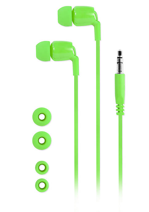 Innovative Technology Earbuds with Tangle Free Cord