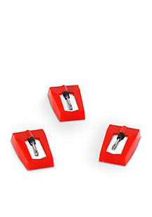 Set of 3 Turntable Needles Victrola Modern Design 50-Watt Player
