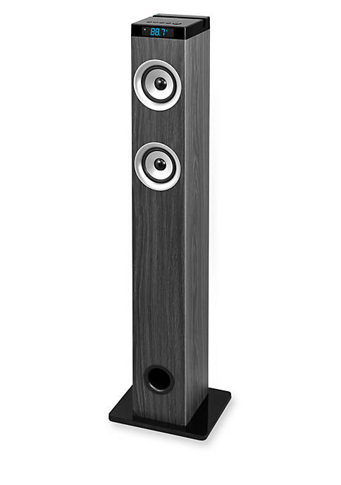 Innovative Technology Bluetooth 40-in. Tower Speaker with Digital