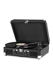 Innovative Technology Victrola Suitcase Turntable - Black