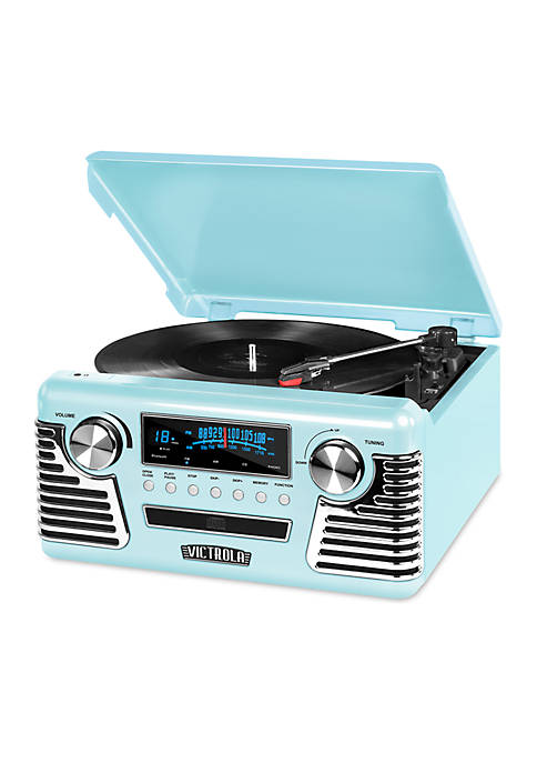 Retro Record Player Bluetooth 3-Speed Turntable