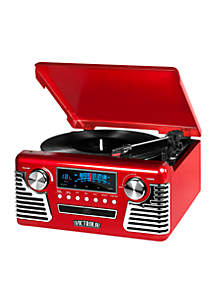 '50s Retro Record Player With Bluetooth And CD