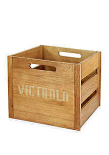 Victrola Victrola Wooden Record and Vinyl Crate