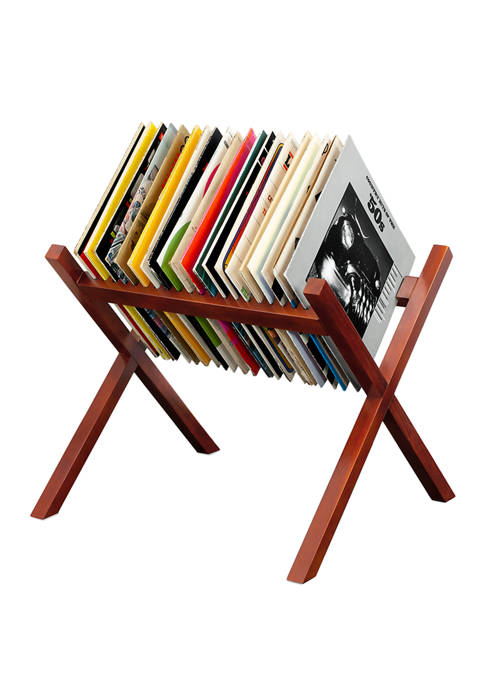 Innovative Technology Wooden Record Stand