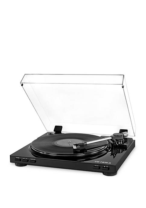 Victrola Pro USB Record Player with 2-Speed Turntable
