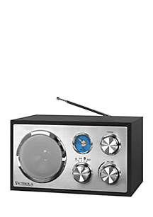 Wooden Desktop Bluetooth Radio