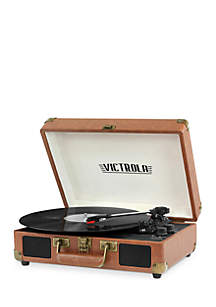 Victrola Bluetooth Suitcase Record Player Turntable