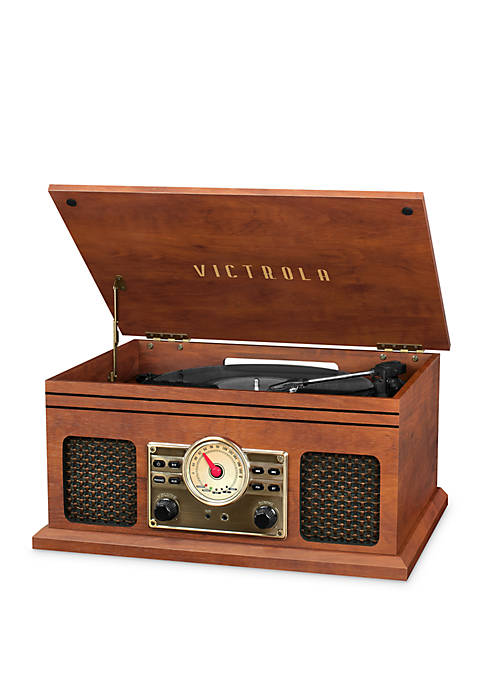 Victrola 4-in-1 Nostalgic Bluetooth Turntable with 3-Speed Record