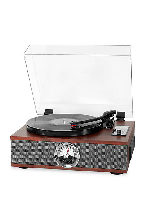 Victrola 5-in-1 Wood Bluetooth Record Player with 3-Speed
