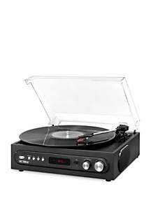 Victrola All-in-1 Bluetooth Record Player with Built in Speakers and 3-Speed Turntable