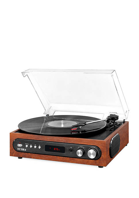 Victrola All-in-1 Bluetooth Record Player with Built in