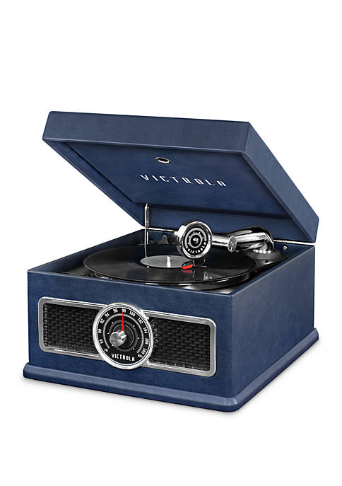 Victrola 5-in-1 Nostalgic Bluetooth Record Player with CD,