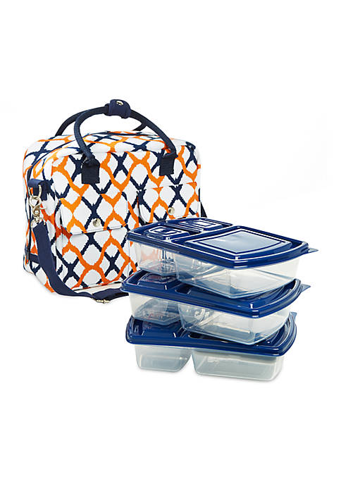 Fit & Fresh Jaclyn Insulated Lunch Tote Set