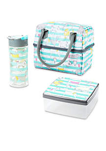 Ivy Insulated Bag with Chilled Lunch Pod and Water Bottle